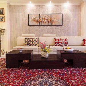 طراحی داخلی ویلا ایرانی