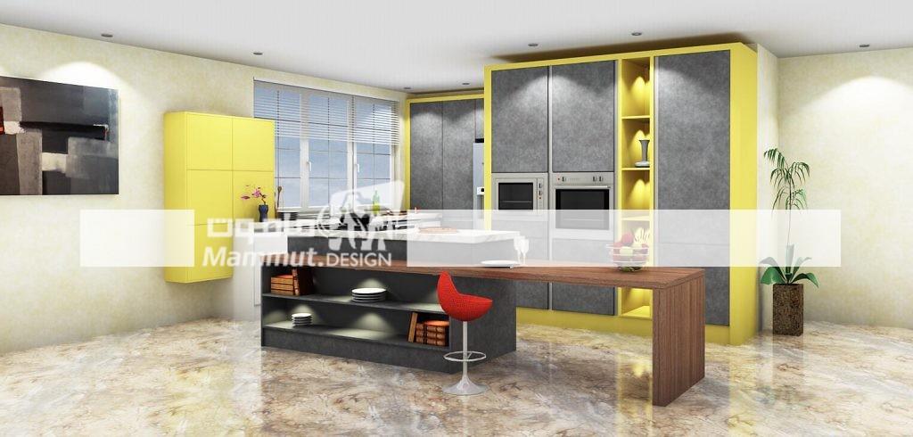 طراحی کابینت مدرن کد 032