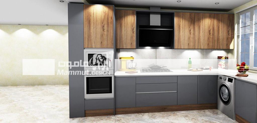 طراحی کابینت مدرن کد 033