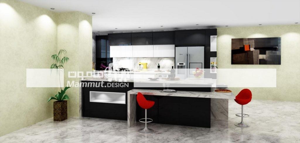 طراحی کابینت مدرن کد 023
