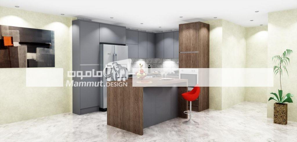 طراحی کابینت مدرن کد 024