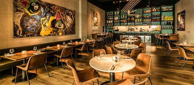 طراحی دکوراسیون کافه رستوران