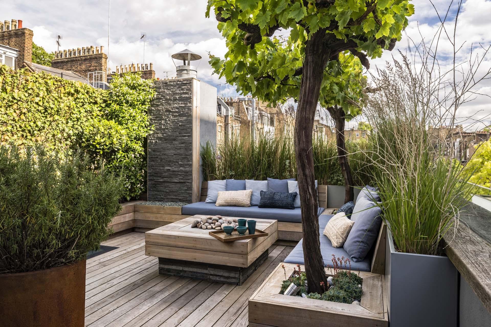 طراحی فضای سبز ویلا مدرن