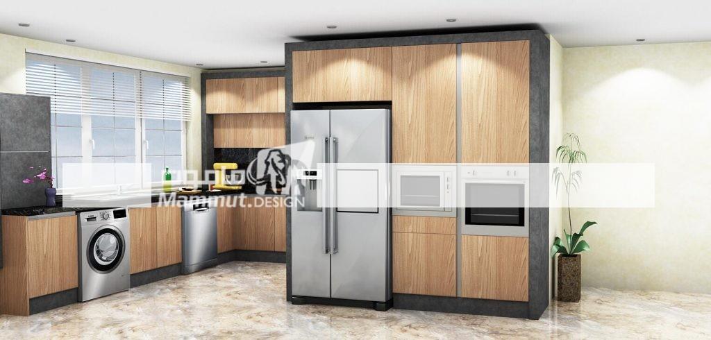 طراحی کابینت مدرن کد 031